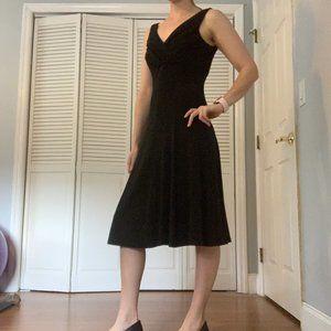 Swing & Sexy Fit N Flare Little Black Dress sz 4